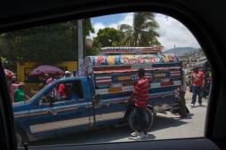 Tap-tap - Port au Prince, Haiti