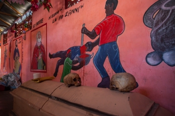 Voodoo church - Plaisance, Haiti
