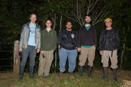 With Adam Clause, Julian Velasco, Levi Gray, and Steve Poe - Laguna Belgica, Mexico