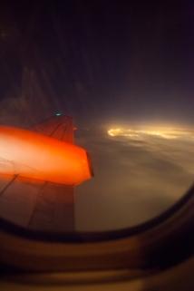 Flying into Guantanamo Bay, Cuba